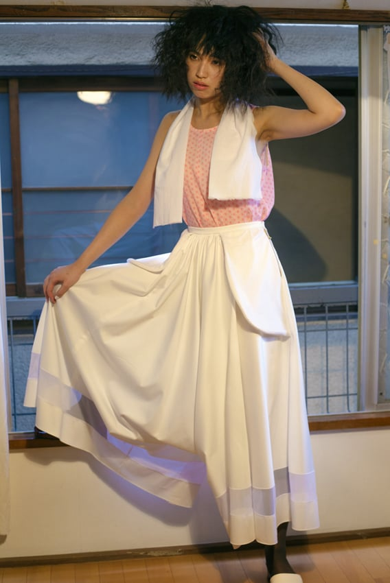 GotoAsato SS15 Ankle-length Harem Culottes