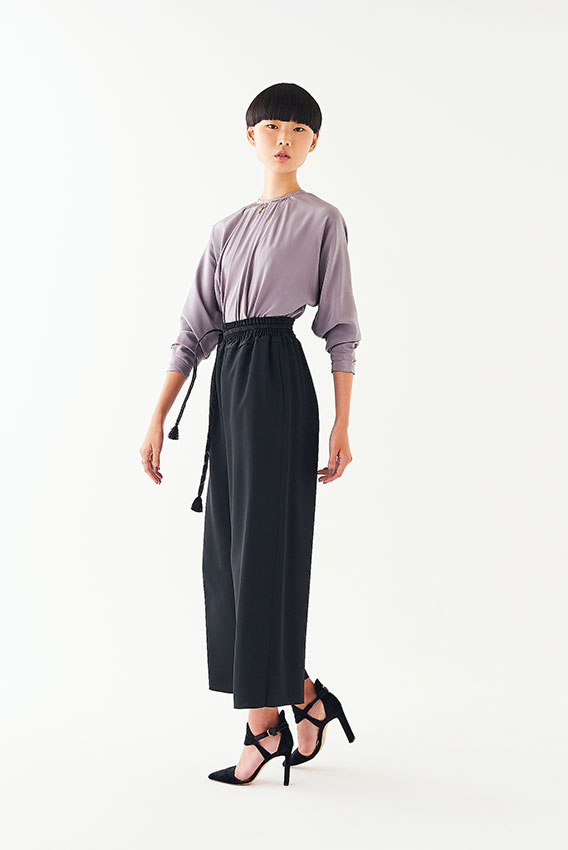 Goto Asato Happiness19  Color Maxi T-shirt Belted Maxis
